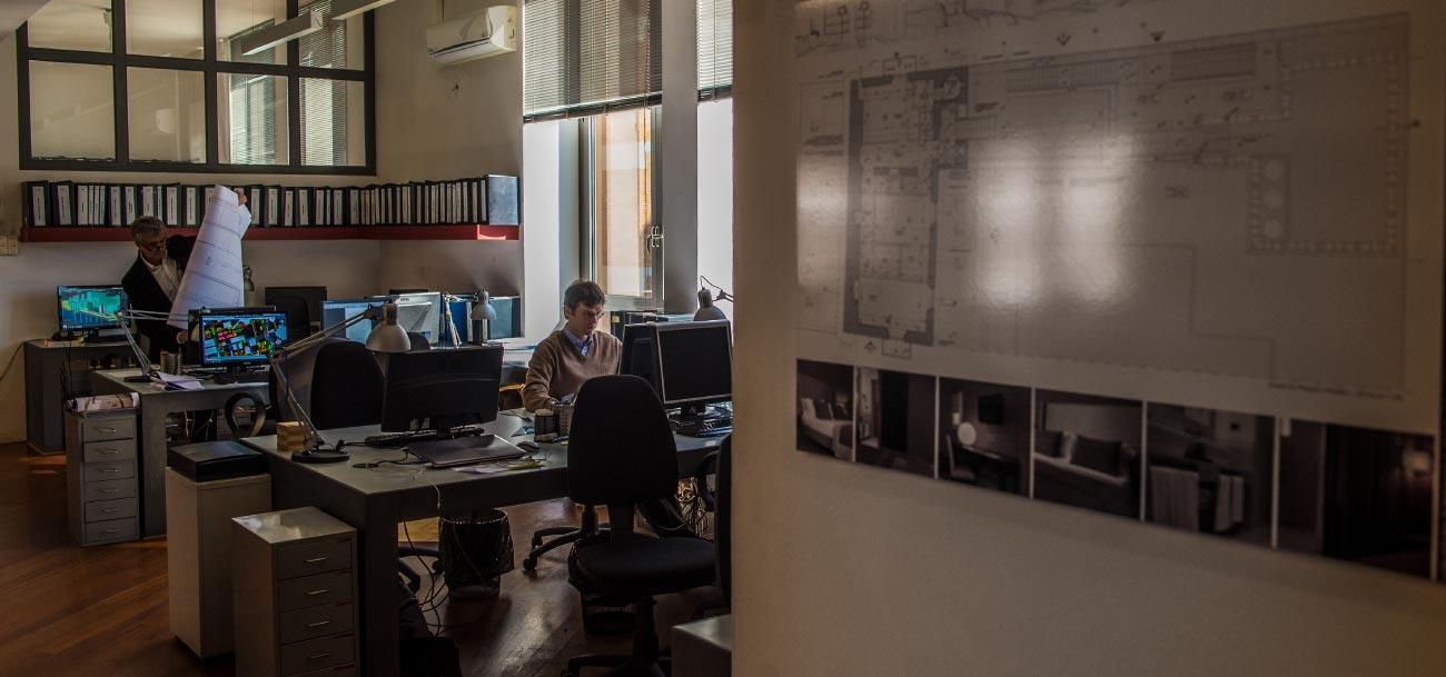 La storia dello studio di architettura bioedil progetti for Studi di architettura roma