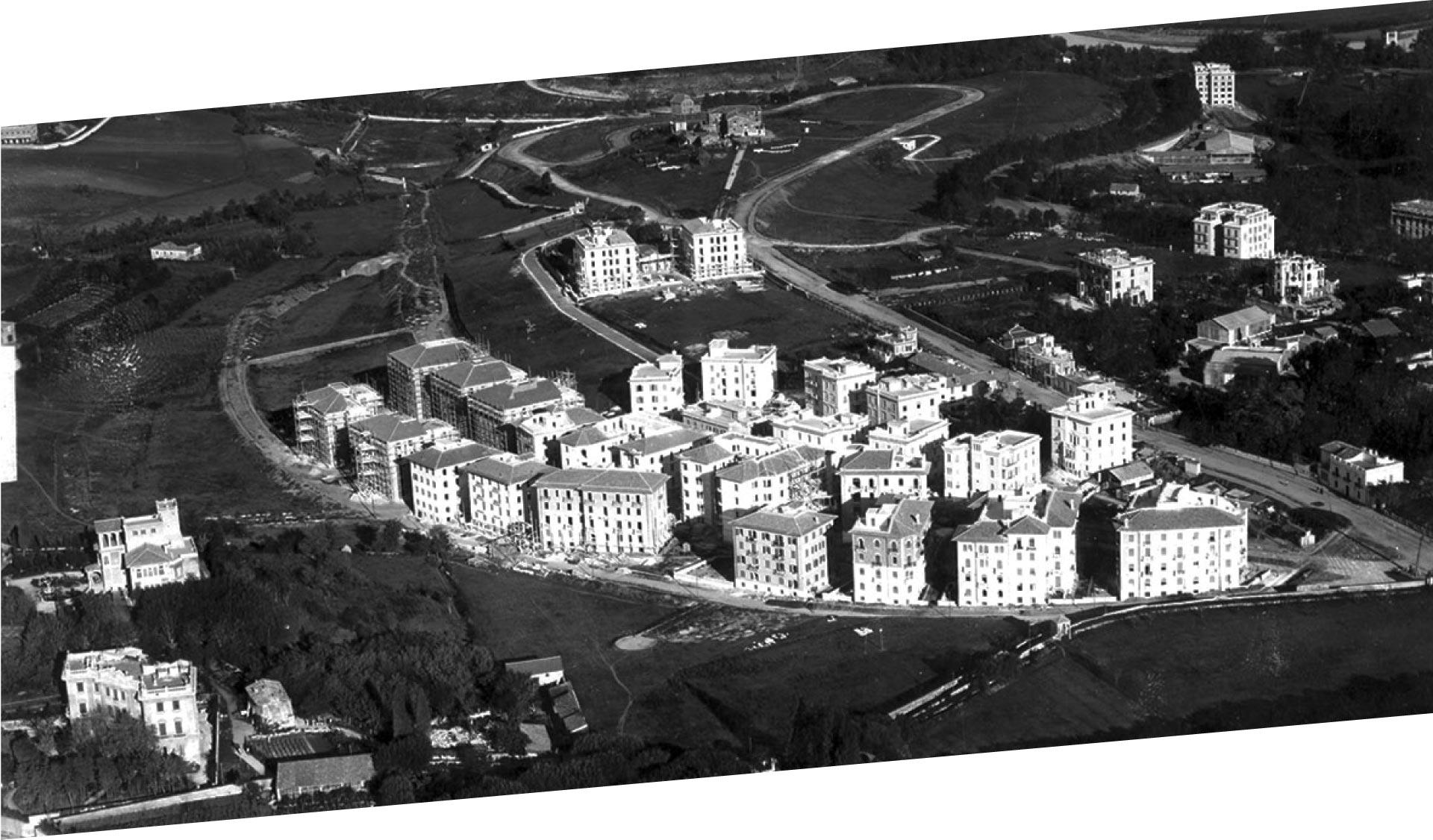 I Parioli sono uno dei quartieri più chic di Roma