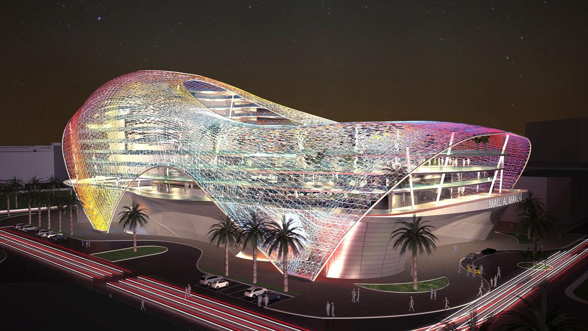 Al Mamzar è un progetto ambizioso, monumentale futuristico