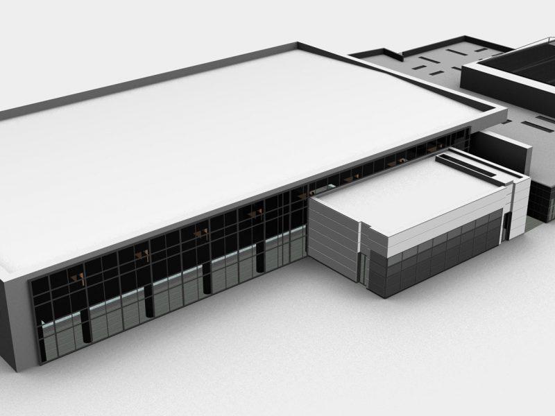 Il polo natatorio federale è una struttura innovativa e contemporanea