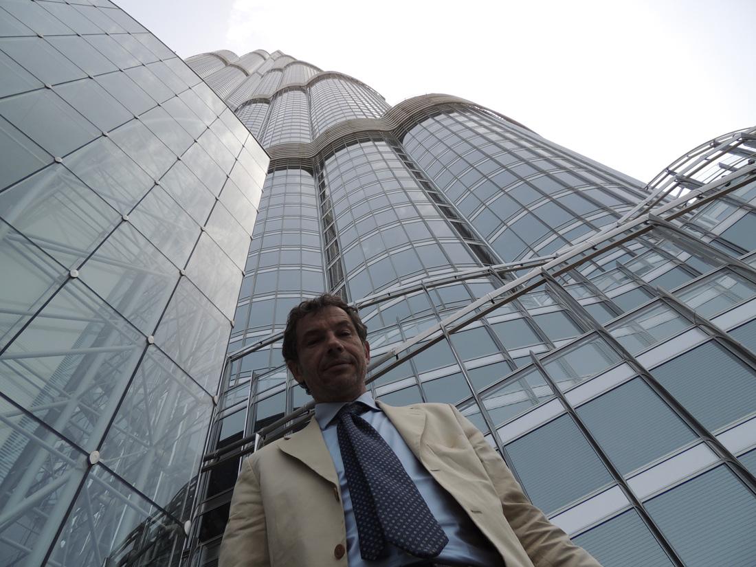 Roberto Santori in visita a Dubai