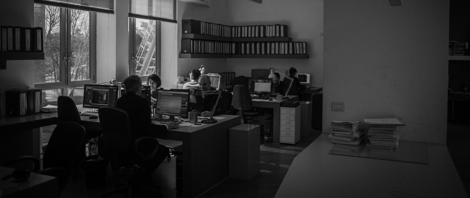 Gli uffici di Bioedil sono concepiti come ambienti che stimolano la collaborazione