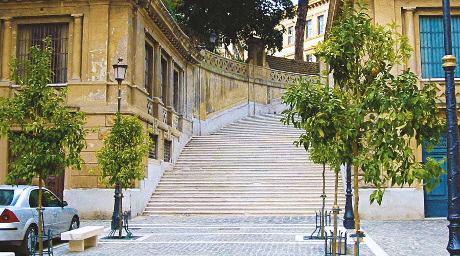 Piazza Iside a Roma, esempio di classicismo moderno