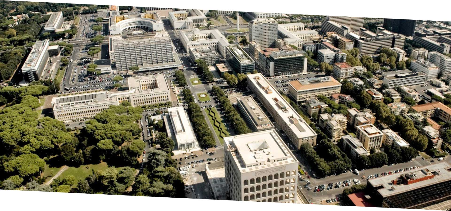 L'Eur è uno dei quartieri a più alta densità abitativa della capitale
