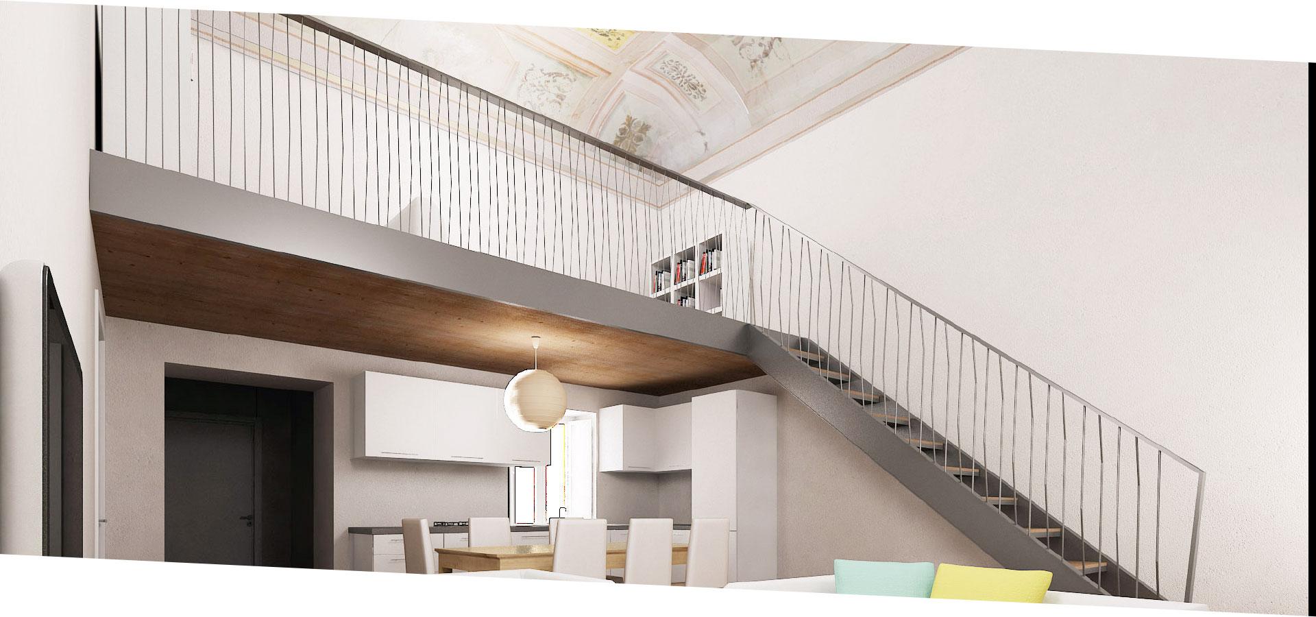Gli appartamenti coniugano tradizione e modernità