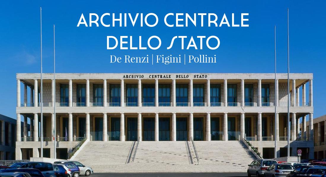 L'archivio centrale dello Stato è un esempio di razionalismo architettonico
