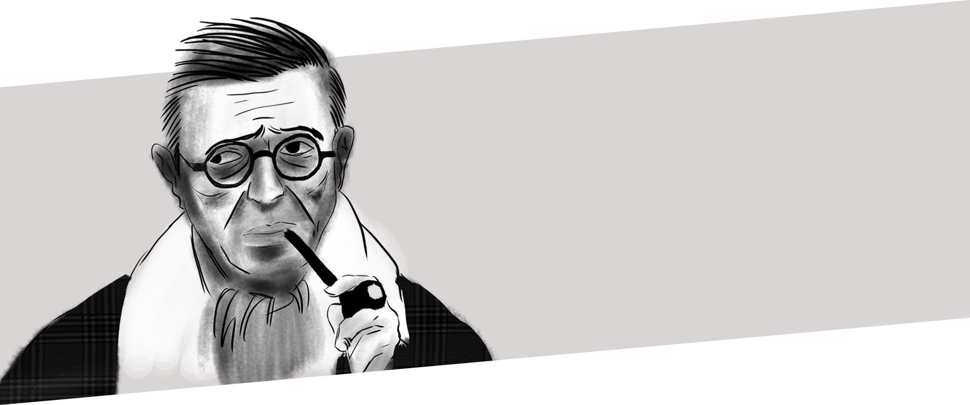 Jean Paul Sartre è stato filofoso, scrittore e pensatore