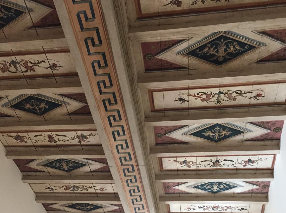 Il restauro, di tipo conservativo, non ha alterato il valore storico del palazzo
