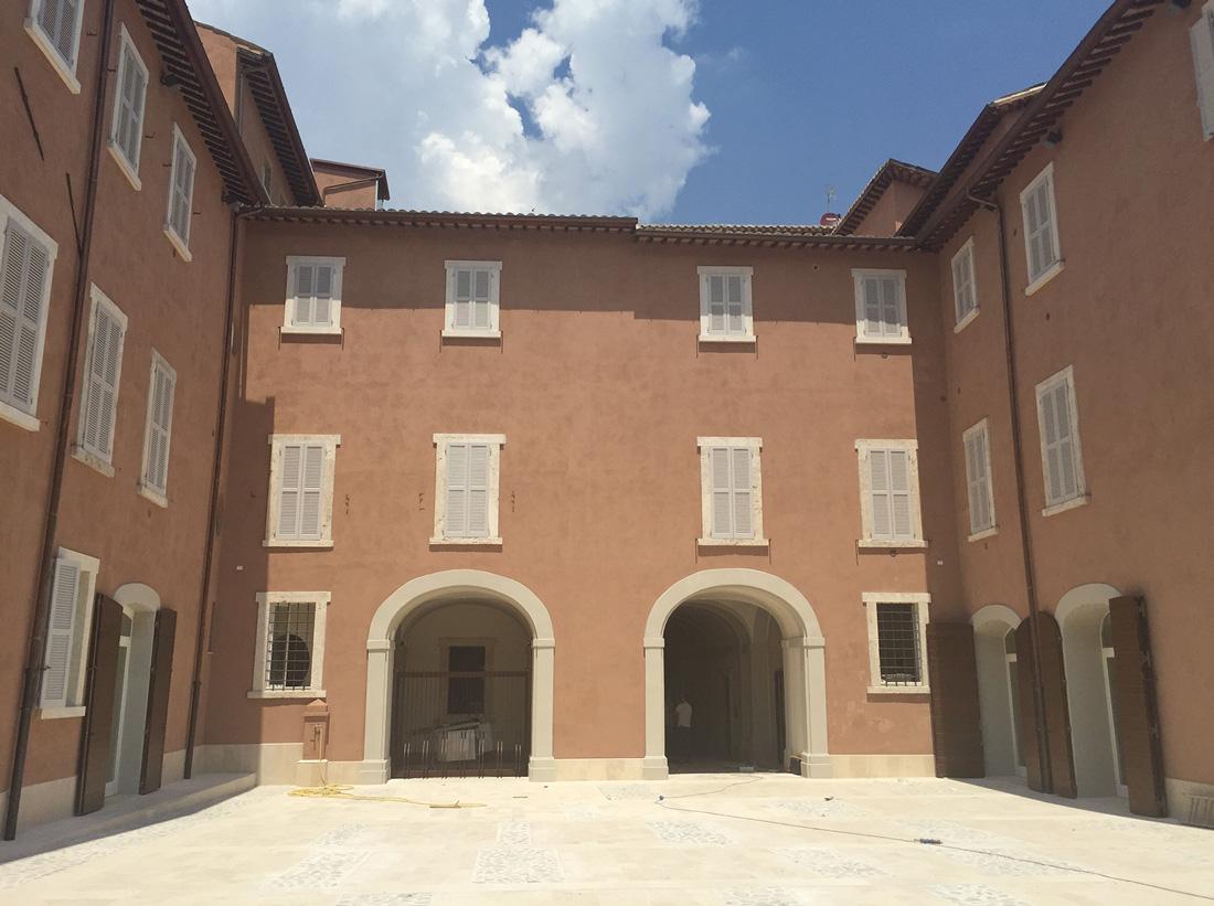 Il Palazzo è un unicum nel panorama architettonico italiano