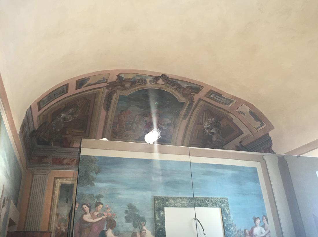 Il restauro delle opere pittoriche è stato eseguito da professionisti del settore