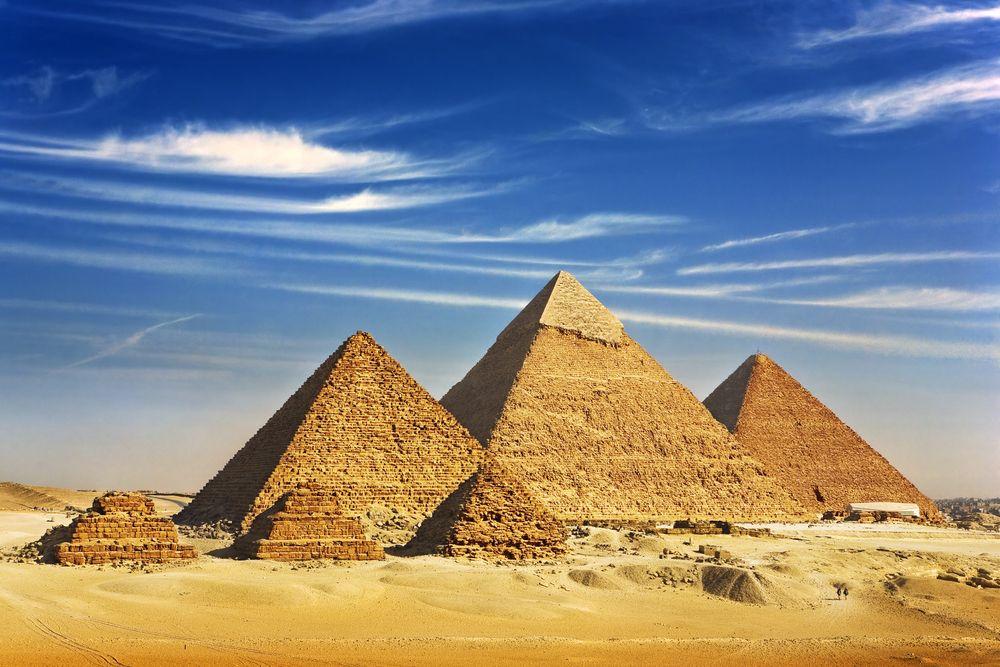 evoluzione dei materiali da costruzione piramidi