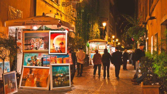 via margutta roma centro storico
