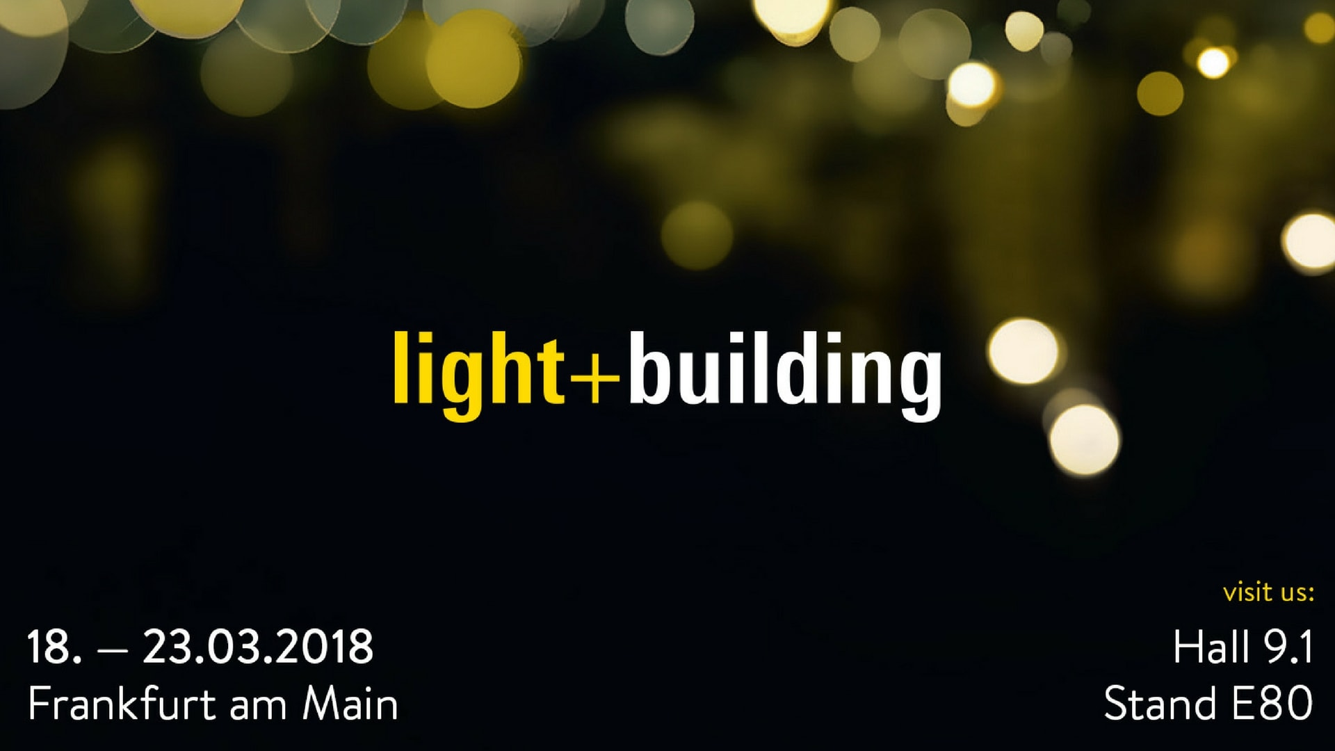 light building 2018 fiera