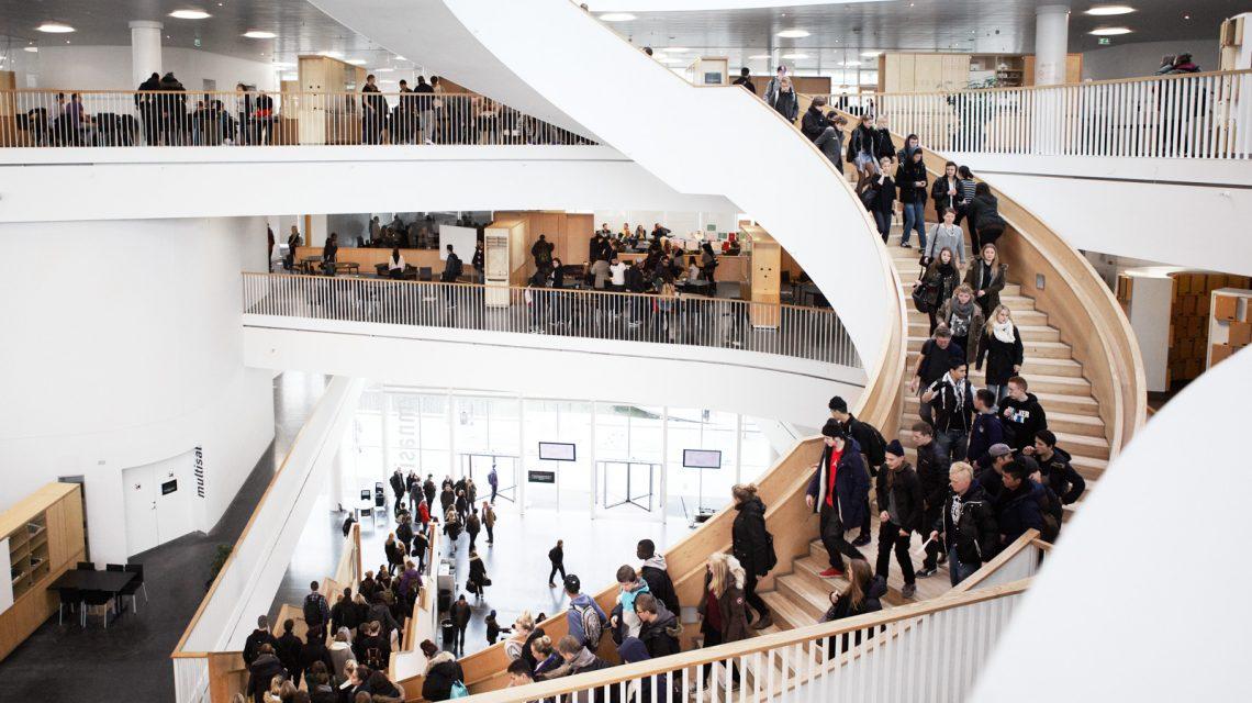 Ørestad Gymnasium in Danimarca