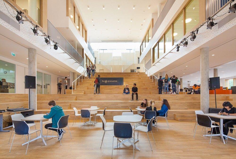 Het 4e Gymnasium in Olanda