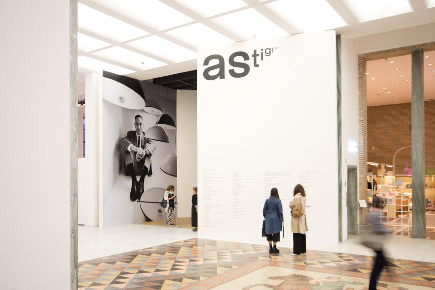 Achille Castiglioni alla Triennale