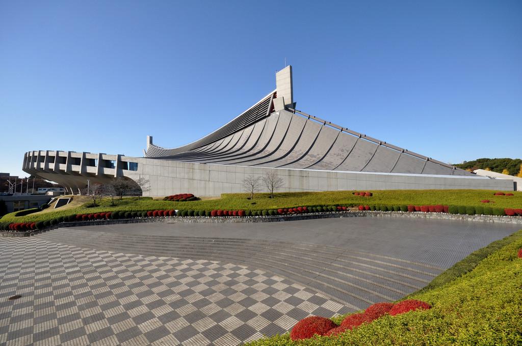 Arena per le Olimpiadi di Tokyo del 1964