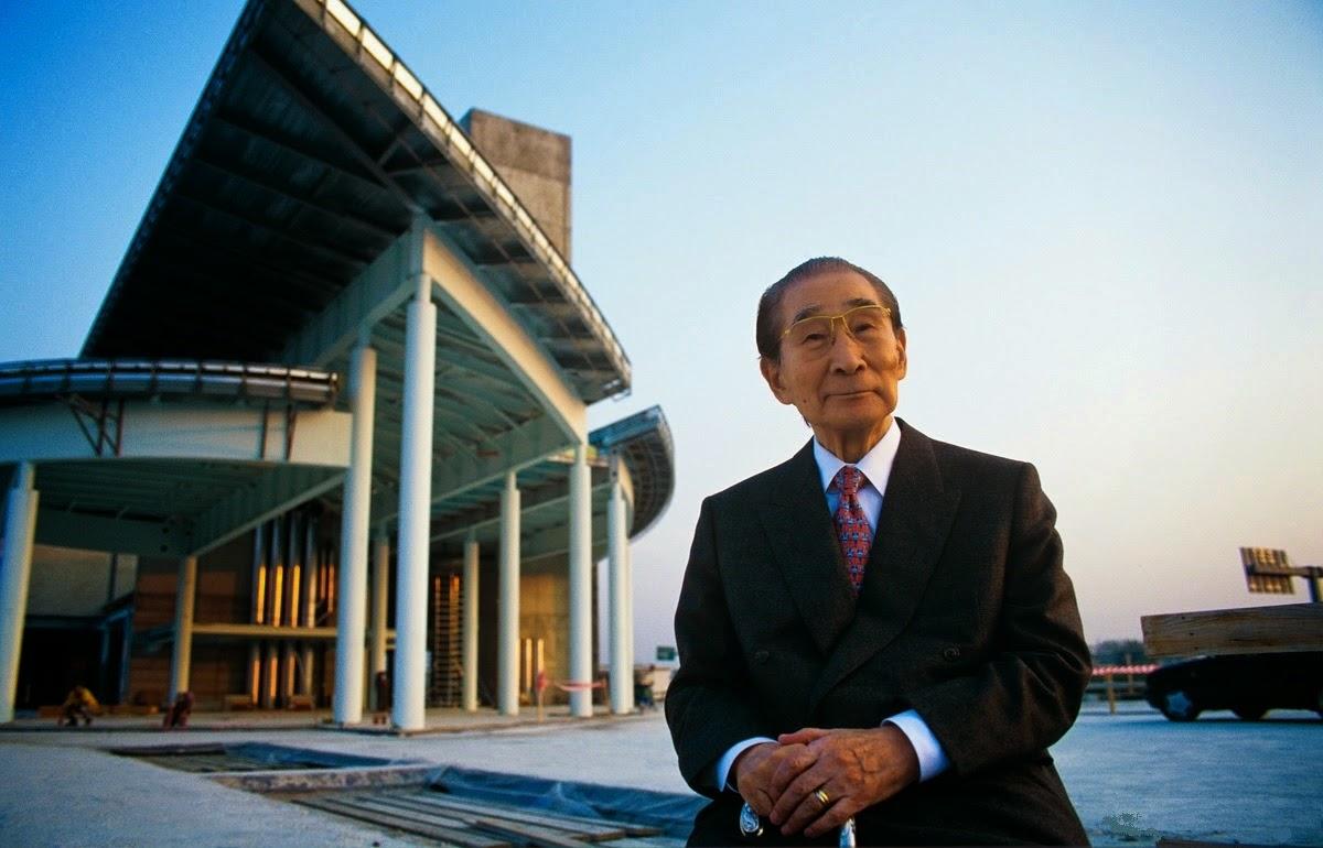 L'architetto Kenzo Tange