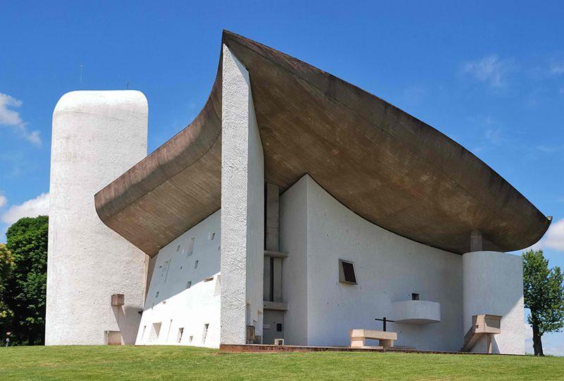 Cappella di Notre Dame du Haut, Ronchamp (Francia)