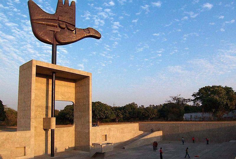 La città di Chandigarh, stato di Punjab (India)