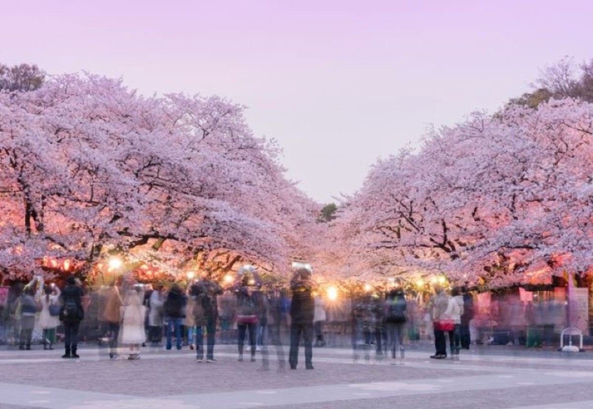 Park Ueno a Tokyo