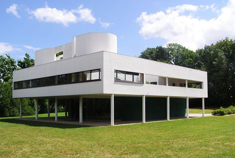 Villa Savoye, opera di Le Corbusier