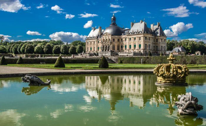 Castle of Vaux le Vicomte Residenze in Francia