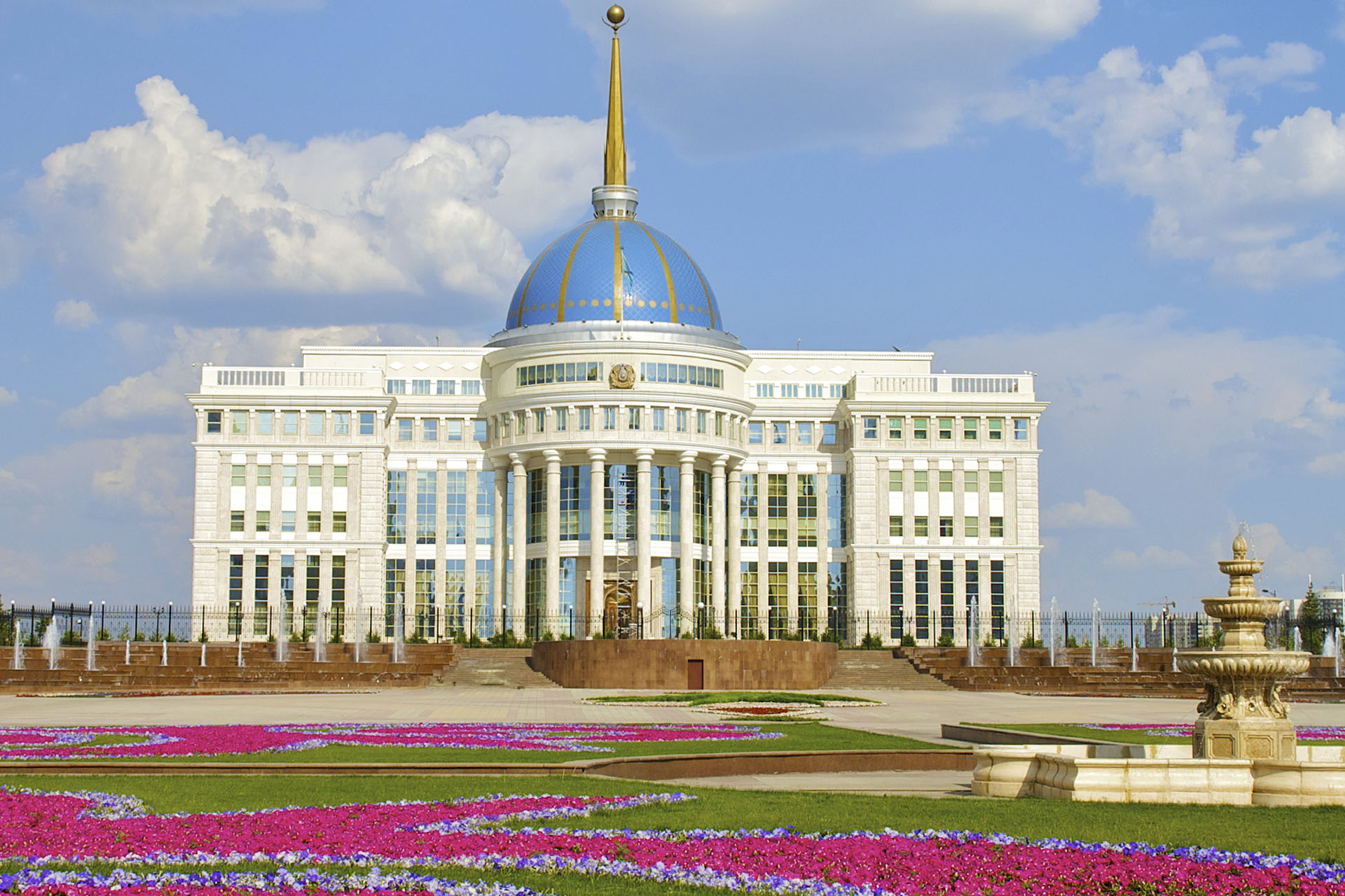 Palazzi del potere: palazzo Presidenziale in Kazakistan