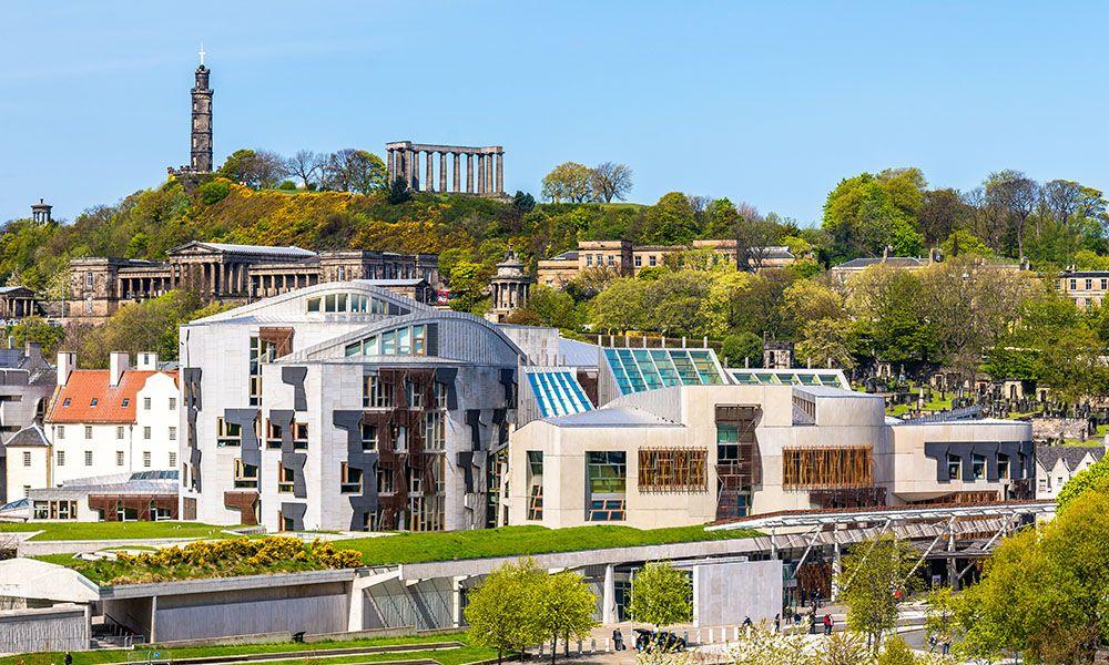 Parlamaid Na h-alba di Edimburgo