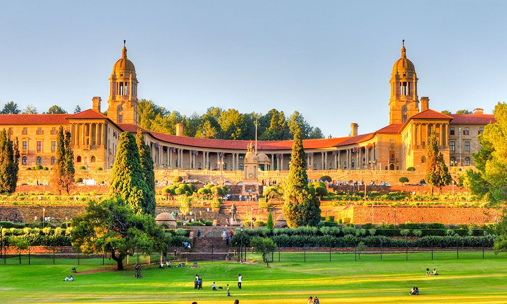 Union Buildings a Pretoria