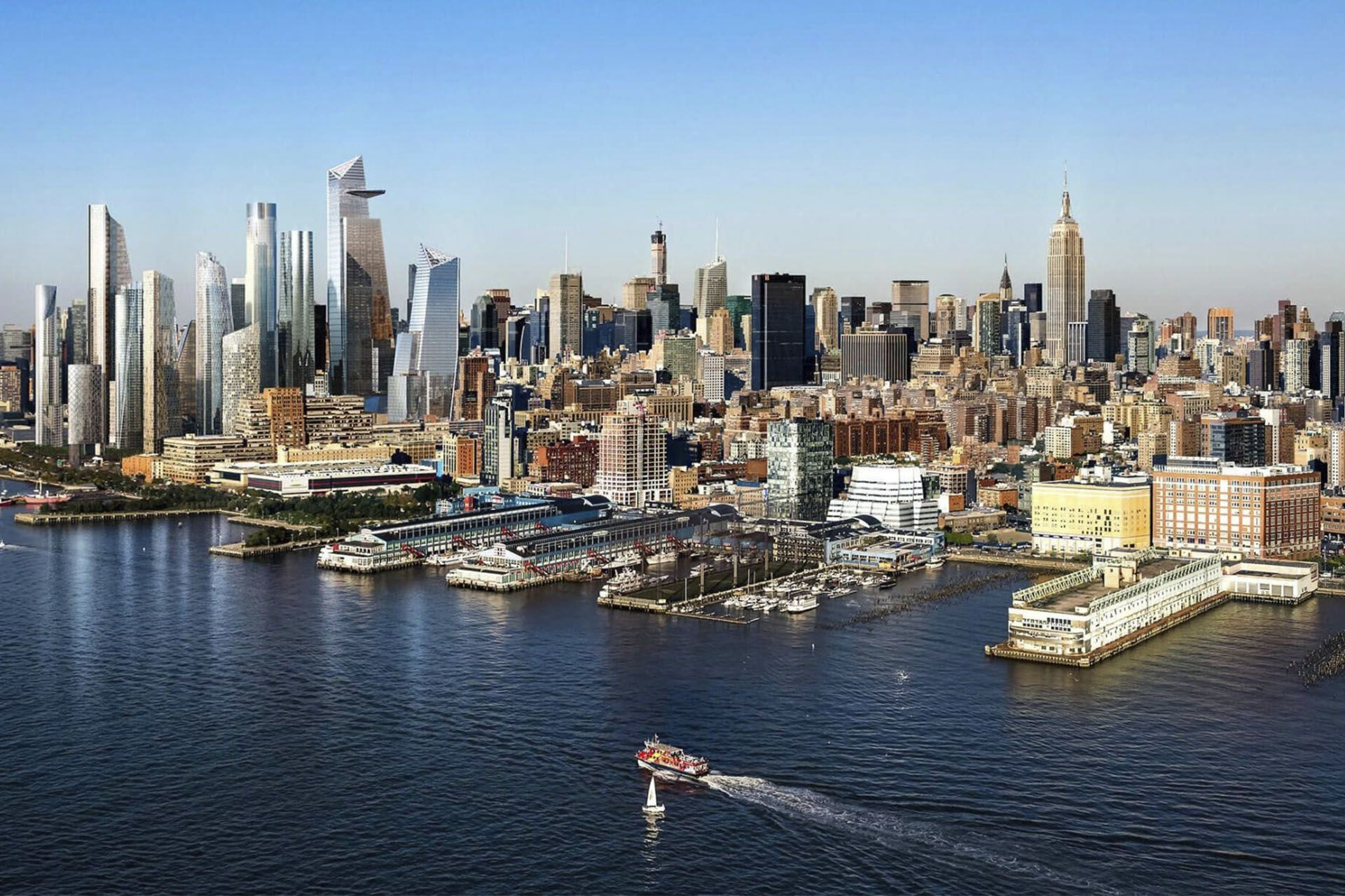 Hudson Yards a New York - per gentile concessione Related Oxford