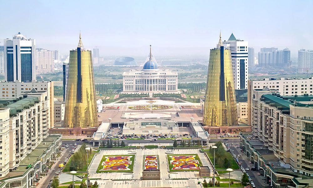 Palazzo Presidenziale di Astana in Kazakistan - Ak-orda