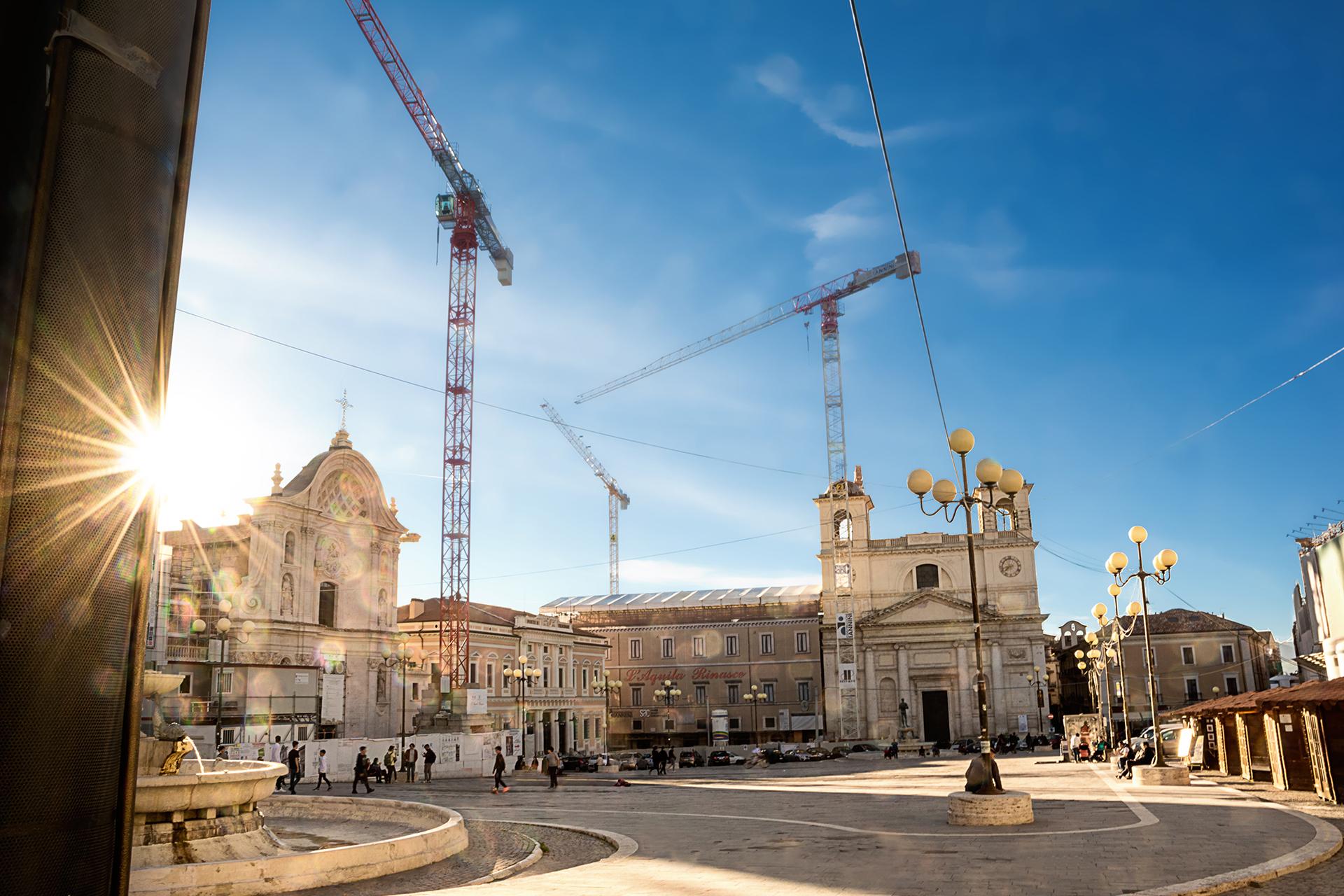 L'Aquila, la ricostruzione dopo il sisma