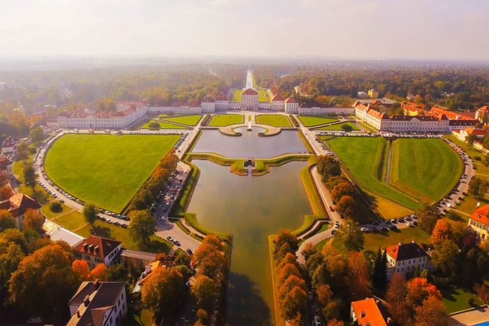 Nymphenburg-parco