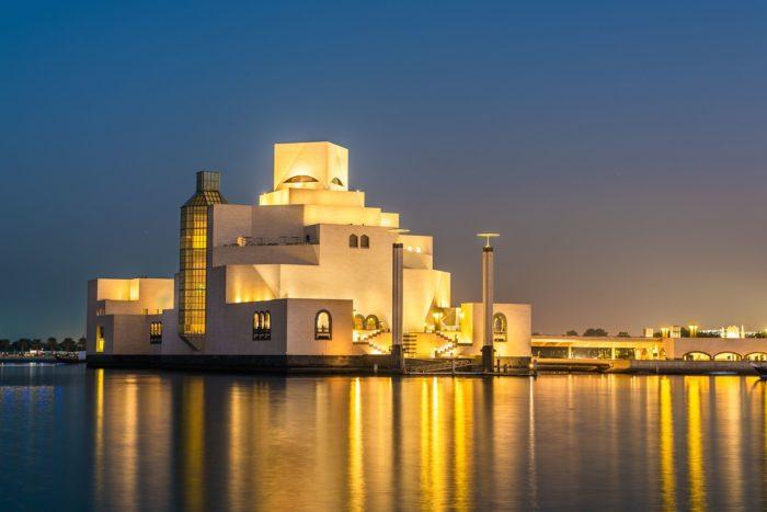 Architettura e geometria a Doha
