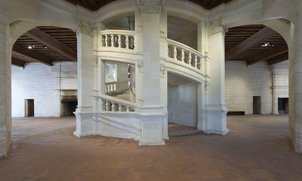 Scala elicoidale del Castello di Chambord