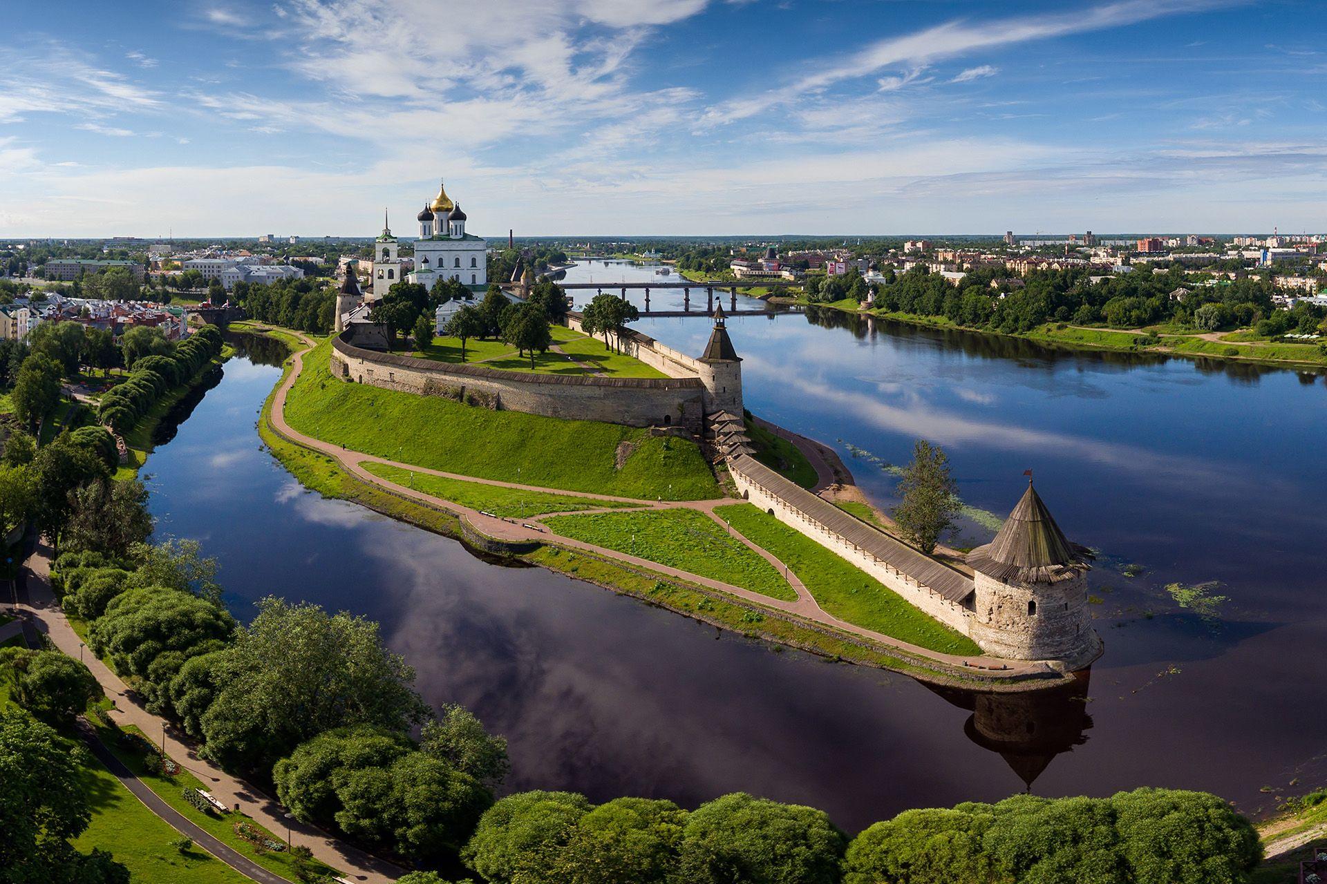 Chiese di Pskov in Russia