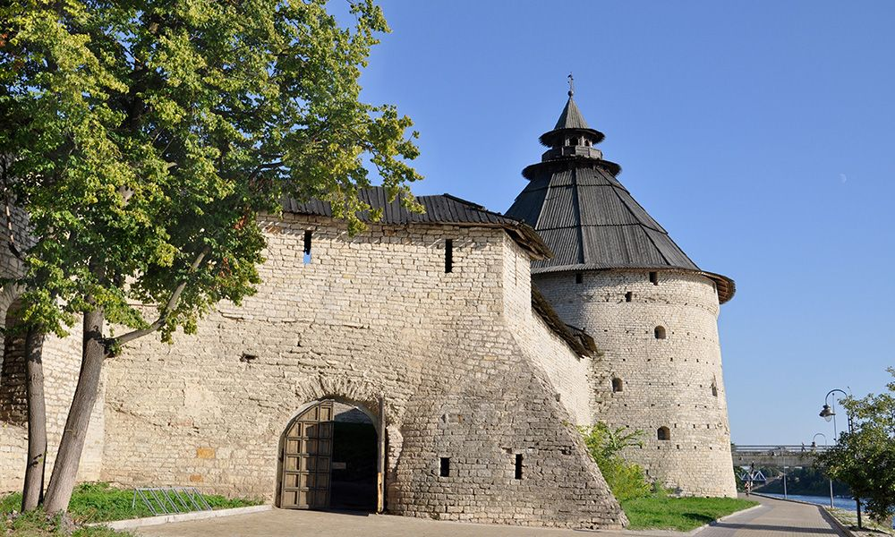 Torre Pokrovskaya a Pskov