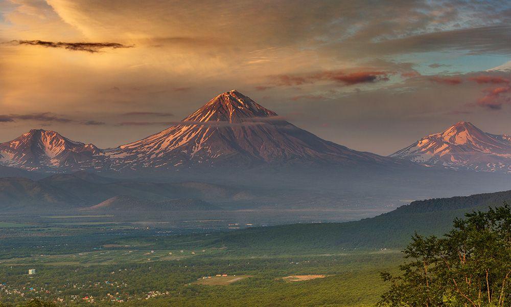 Vulcani dell Kamchatka