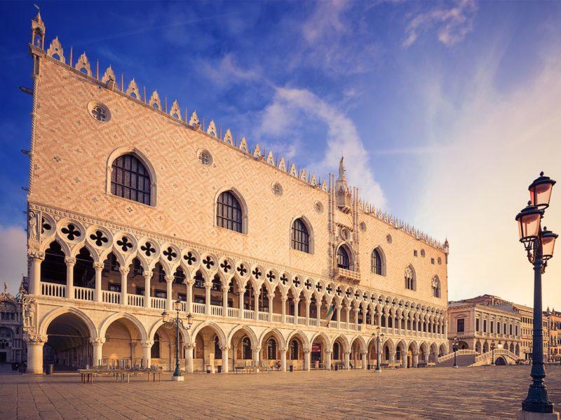 Tra i palazzi storici c'è quello Ducale di Venezia