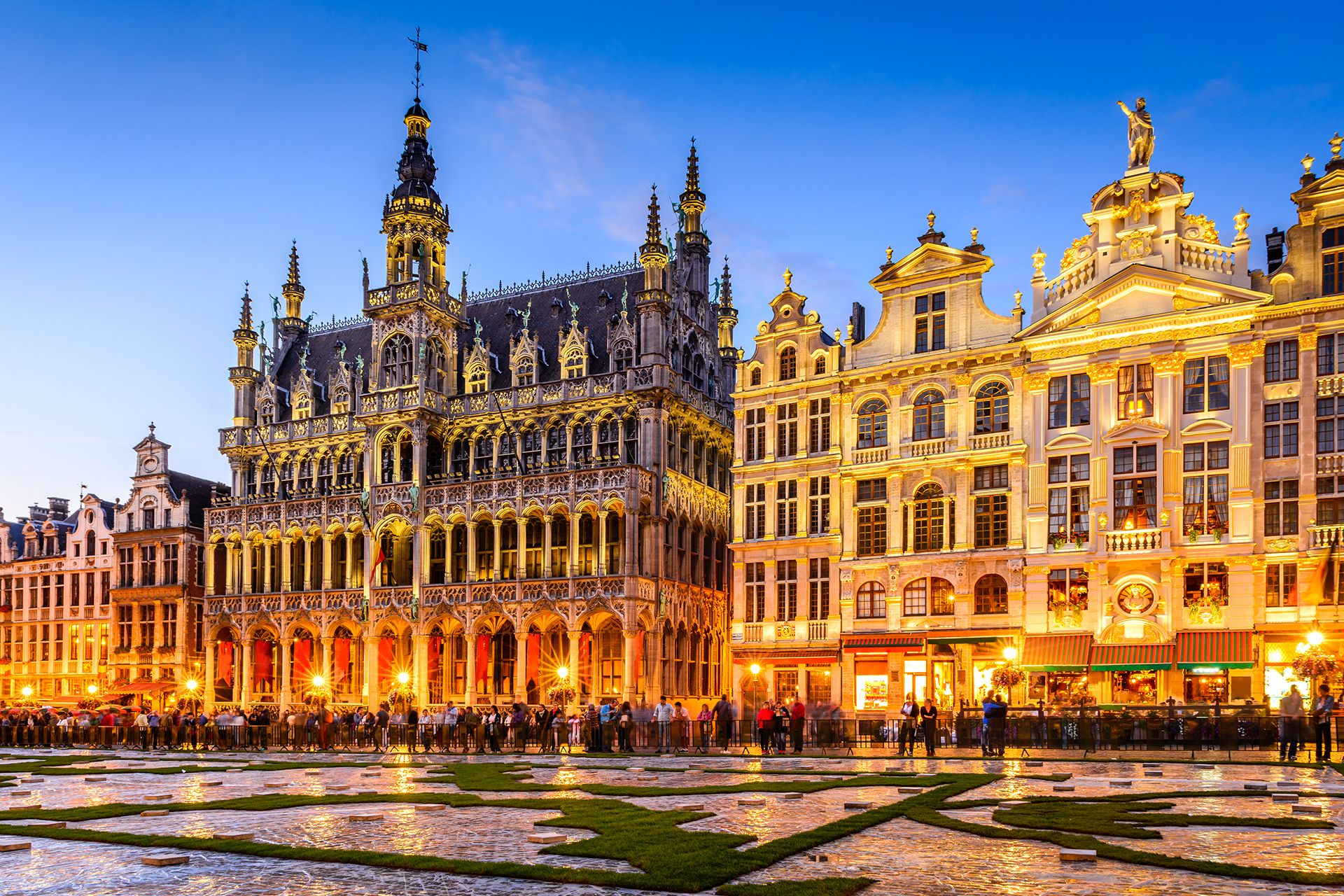 Piazze belle del mondo, Grand Place a Bruxelles