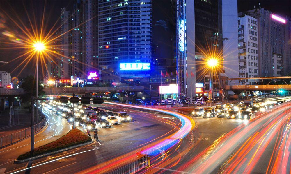 Shenzhen-traffico