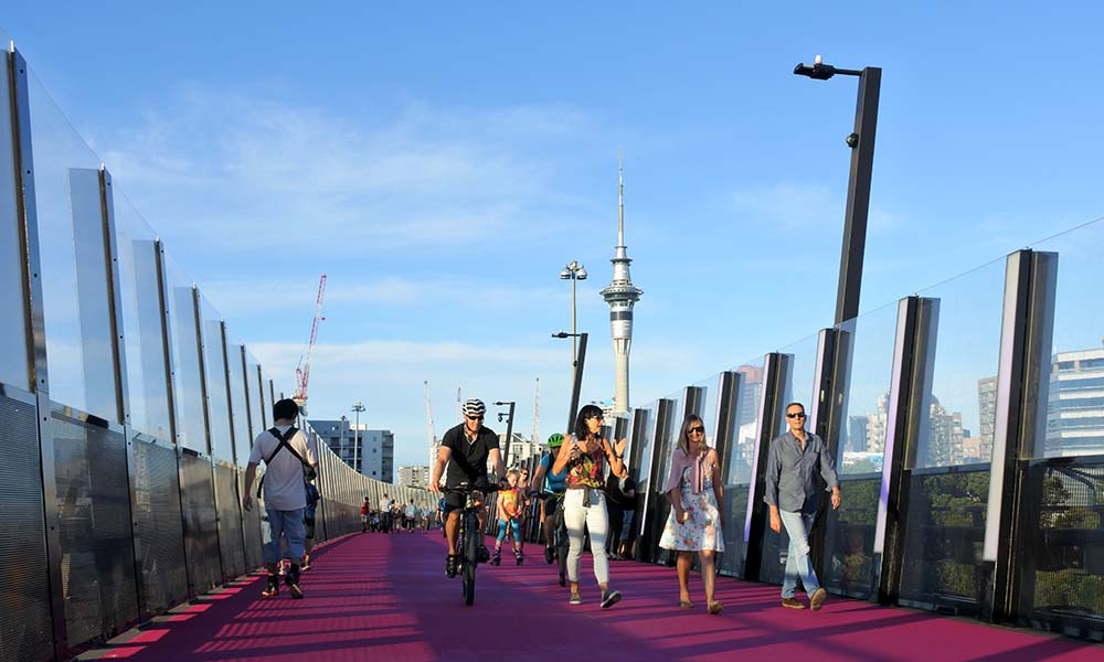 Auckland Nelson street cycleway