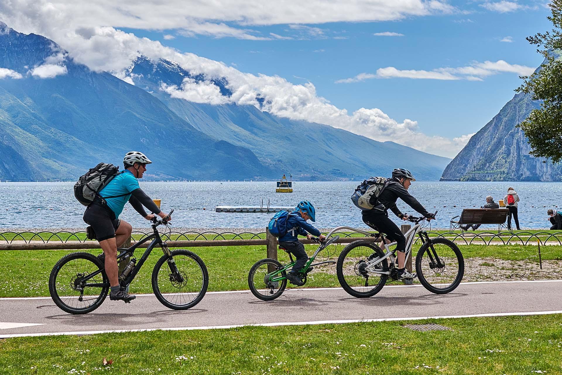 piste ciclabili Garda by bike