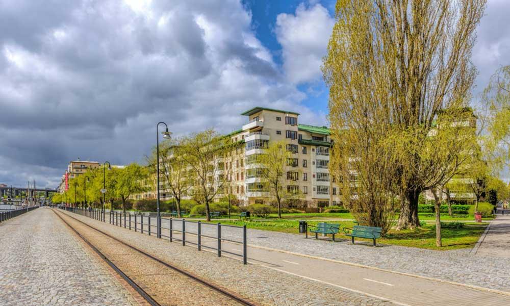 Stoccolma, quartiere ecologico Hammarby