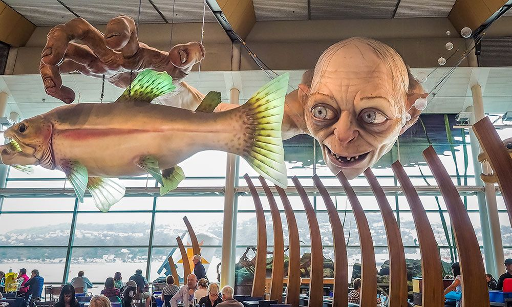 Aeroporto Wellington in Nuova Zelanda