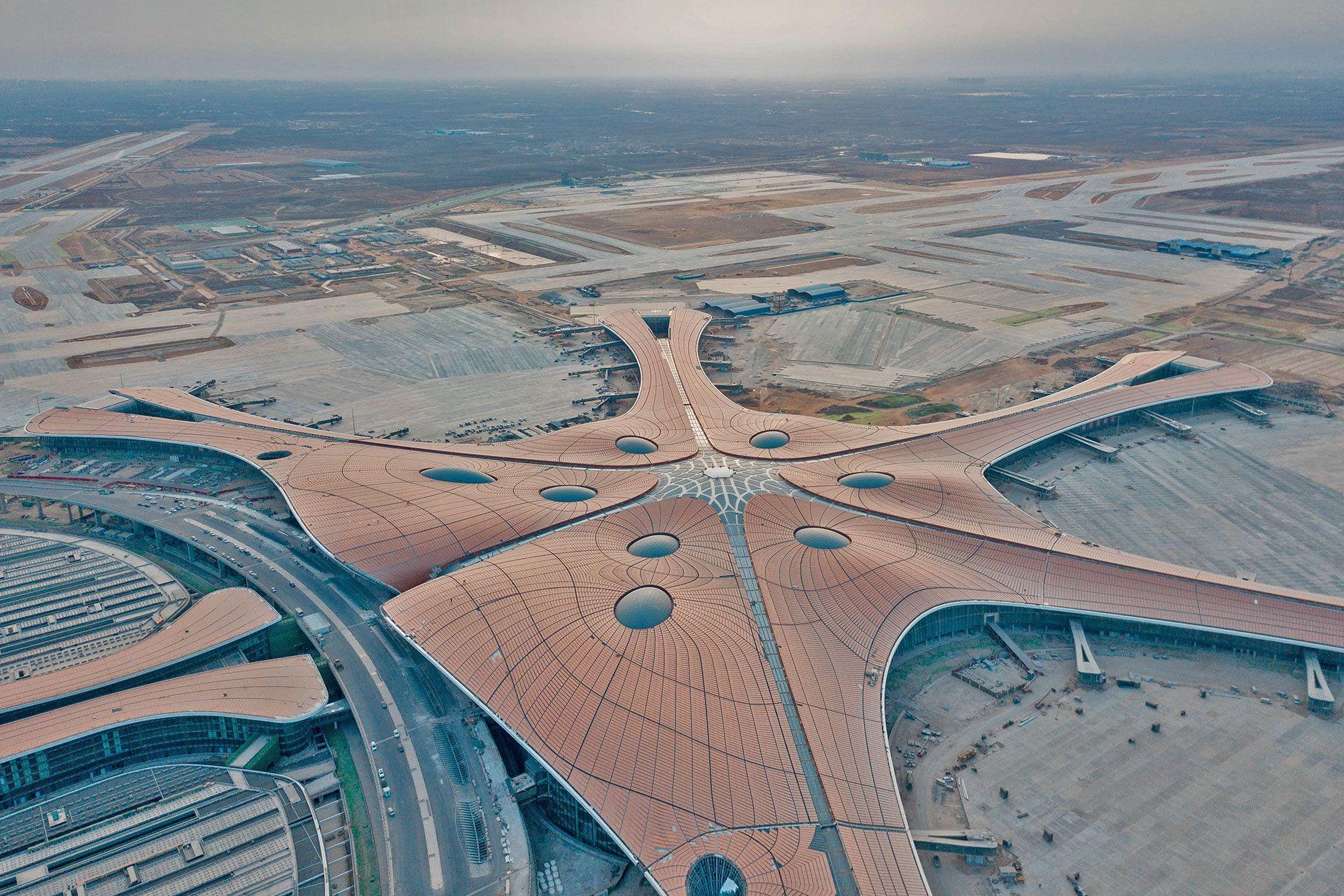 Tra gli aeroporti più belli c'è il Daxing di Pechino