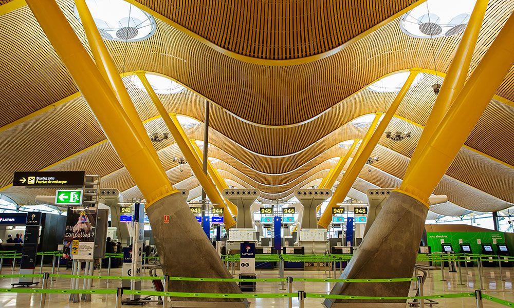aeroporto Bajaras del Suarez di Madrid