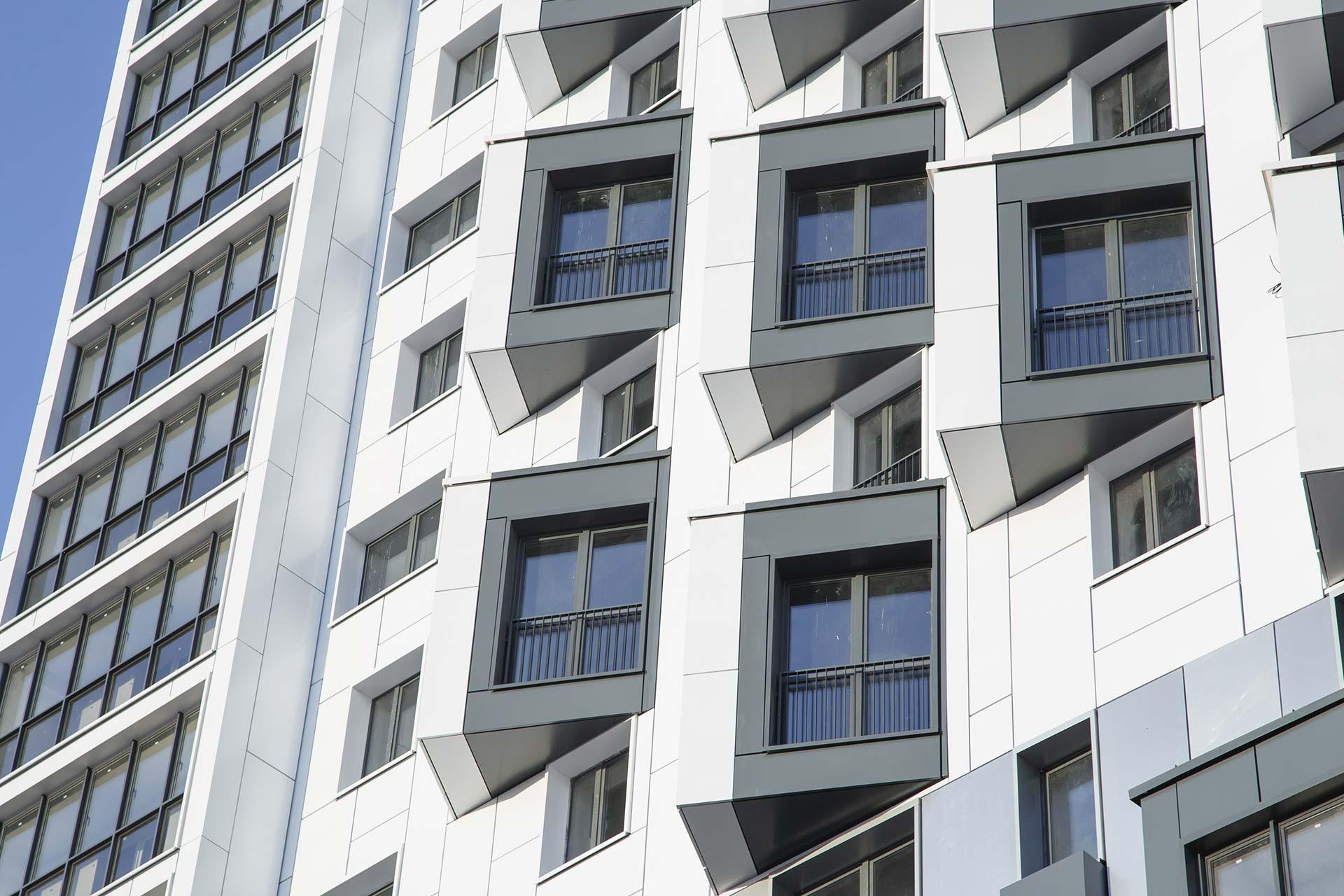 facciata ventilata edificio