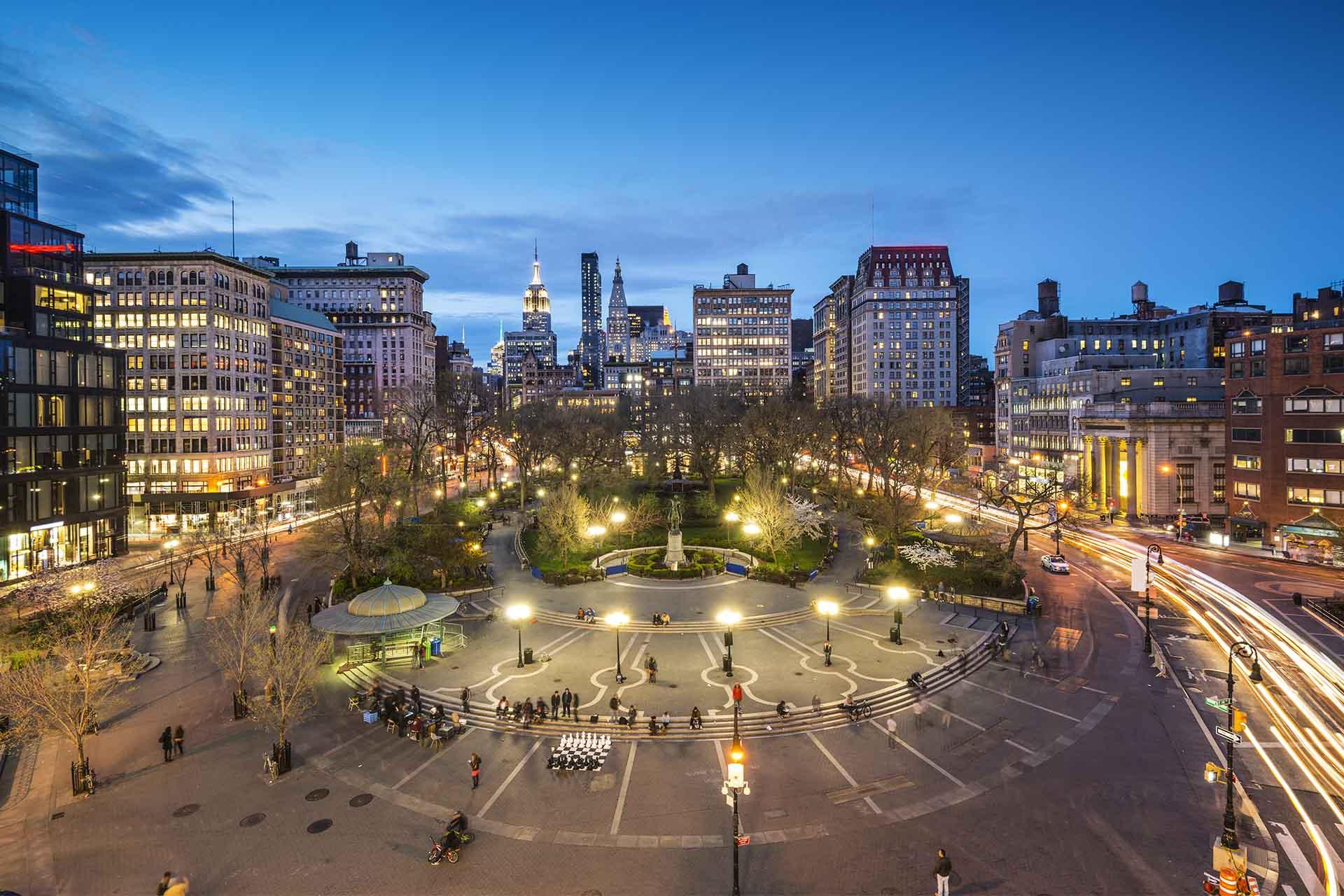Union Square a New York, come cambiano parchi e verde pubblico